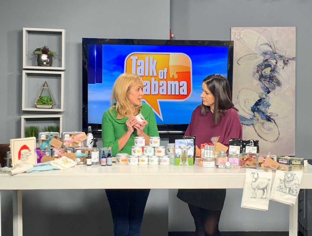 "1818 Farms Appears on ABC 33/40's ""Talk of Alabama"""
