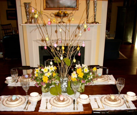 1818 Farms Easter Tablescapes