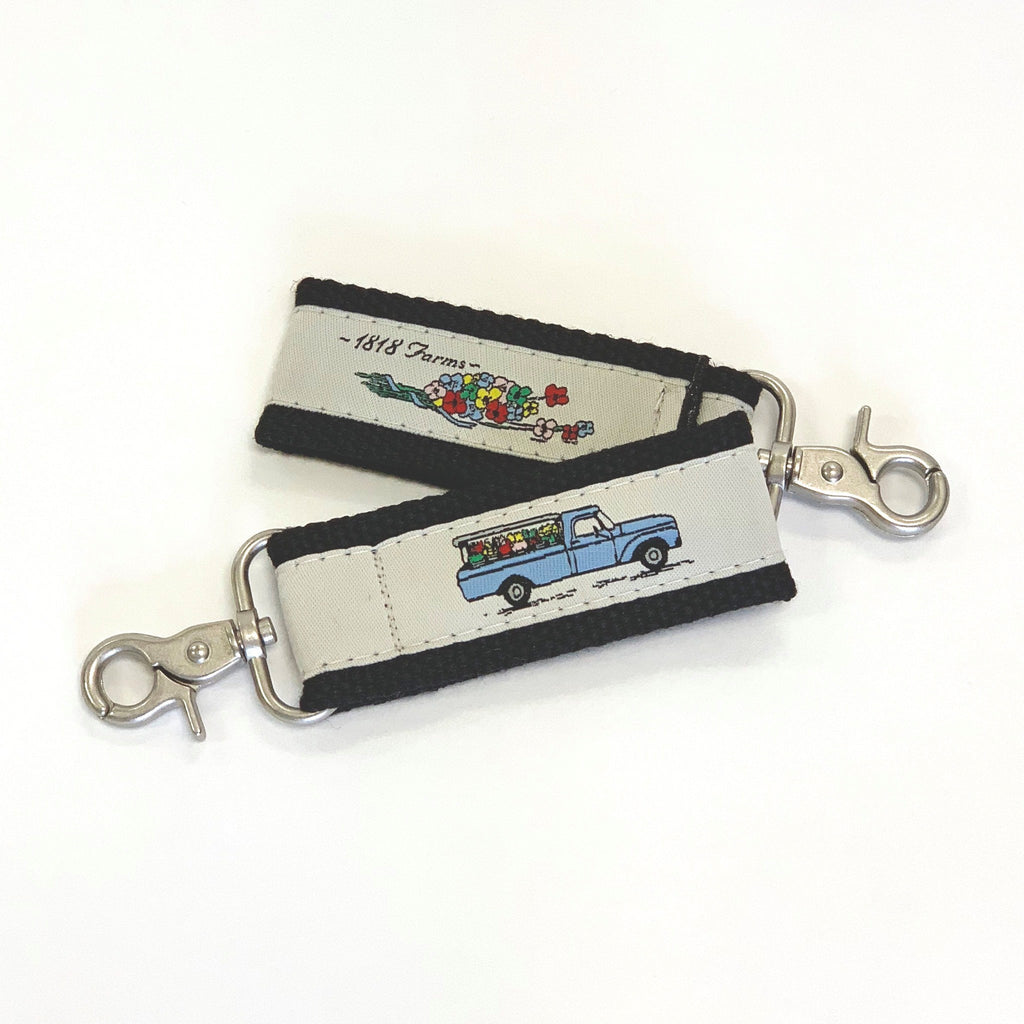 1818 Farms Flower Truck Keychain
