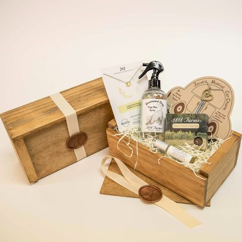 A Yoga Lover's Gift Box