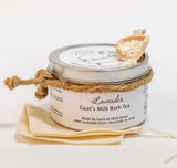 Lavender Goat's Milk Bath Tea Tin