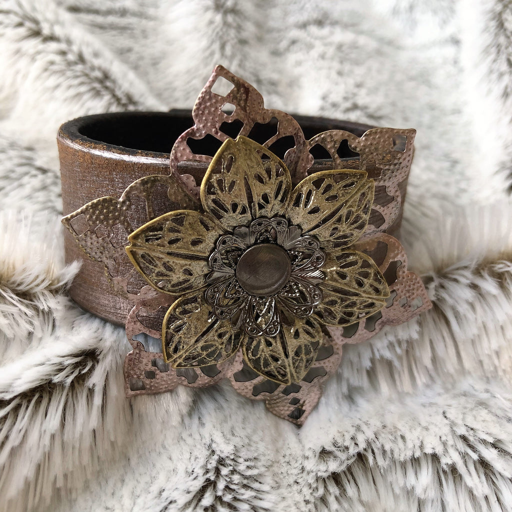 Design your own Leather Cuff Workshop with Amy Boyle