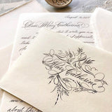Flourishing & Envelopes Calligraphy Workshop with Suzanne Cunningham at 1818 Farms (1 or 2 Days)