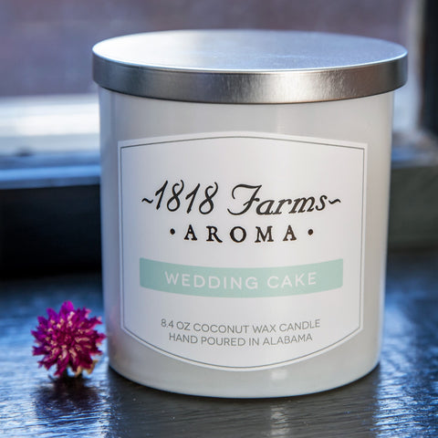Candles (8.4oz Tumbler Jar - Wedding Cake)