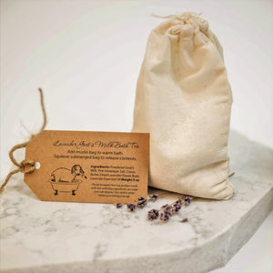 Lavender Goat's Milk Bath Tea