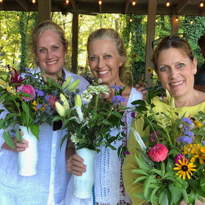 Bloom Stroll and Bouquet Workshop