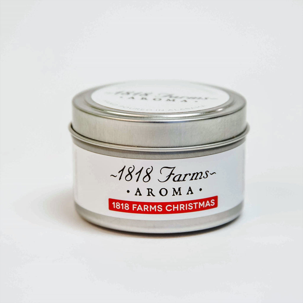 Candles (4.2oz Traveler Tin - 1818 Farms Christmas)