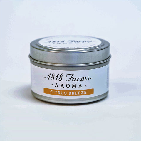 Candles (4.2oz Traveler Tin - Citrus Breeze)