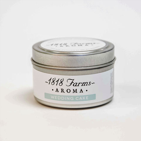Candles (4.2oz Traveler Tin - Wedding Cake)