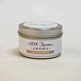 Candles (4.2oz Traveler Tin - White Ember)