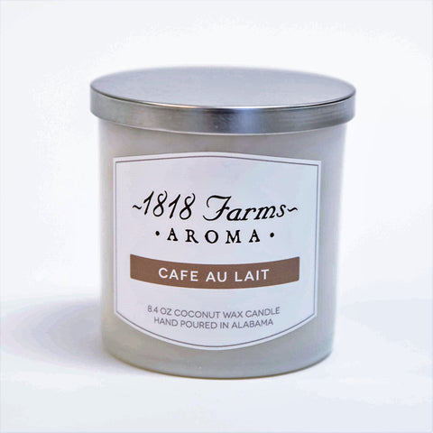 Candles (8.4oz Tumbler Jar - Cafe Au Lait)