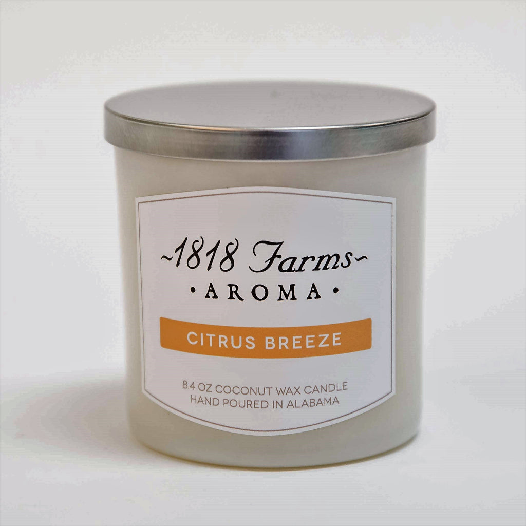 Candles (8.4oz Tumbler Jar - Citrus Breeze)