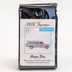 1818 Farms Signature Coffee | Flavored Blend | Happy Day