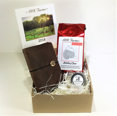 Holiday Cheer and Happy New Year Gift Box by 1818 Farms Select