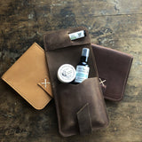 Leather Travel Dopp Kit