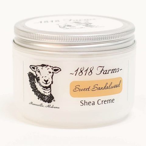 Shea Creme (8 fl oz) | Sweet Sandalwood