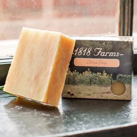 Hand Crafted Soap - Citrus