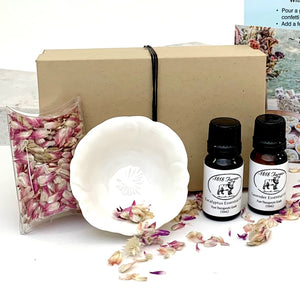Essential Oil and Dried Flower Confetti Gift Set