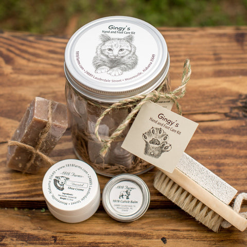 Gingy's Hand & Foot Care Kit - 1818 Farms