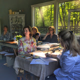 One-Day (8 Hours Total) Beginning Calligraphy Workshop with Suzanne Cunningham at 1818 Farms