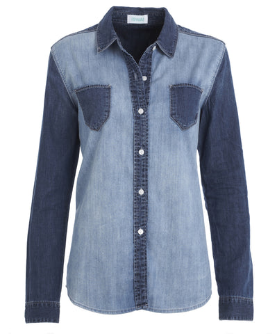 Denim Contrast Shirt