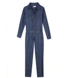 ISWAI Womens Denim Jumpsuit
