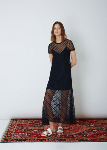 The Fifth Label Tell The Story Dress Navy