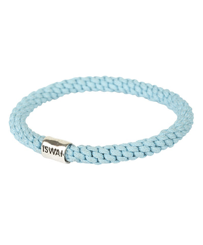 Turquoise Stretch Silver Bracelet