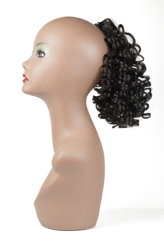 Terry Curly Pig-Tail Extension