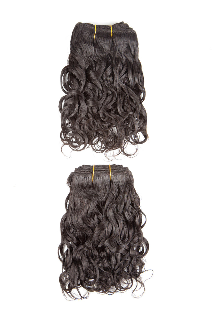 Terry 2 Piece French Curl Weave