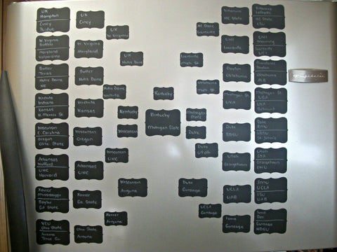 Final Four Board with Labels