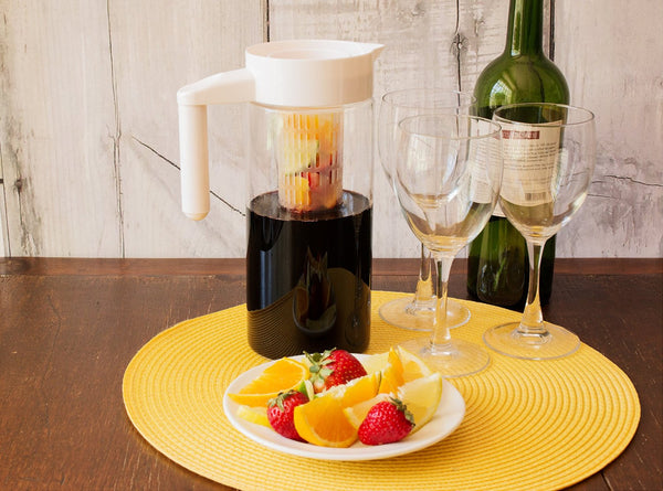 Glass Water/Fruit Infusion Pitcher