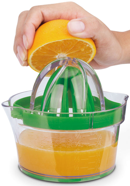 Kitchen Gadgets : Large + Small Citrus Lemon Lime Orange Juicer Manual Hand Squeezer, Built-in Measuring Cup, Grater, Egg Separator, Corn Shucker -   5 in 1 Kitchen Gadget Set by Cestari Kitchen Tools