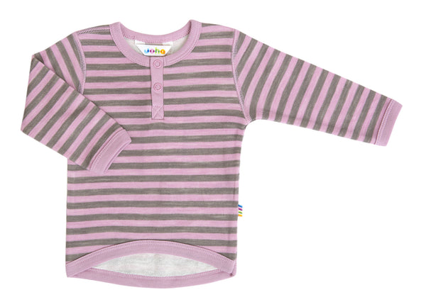 Joha striped blouse in pink