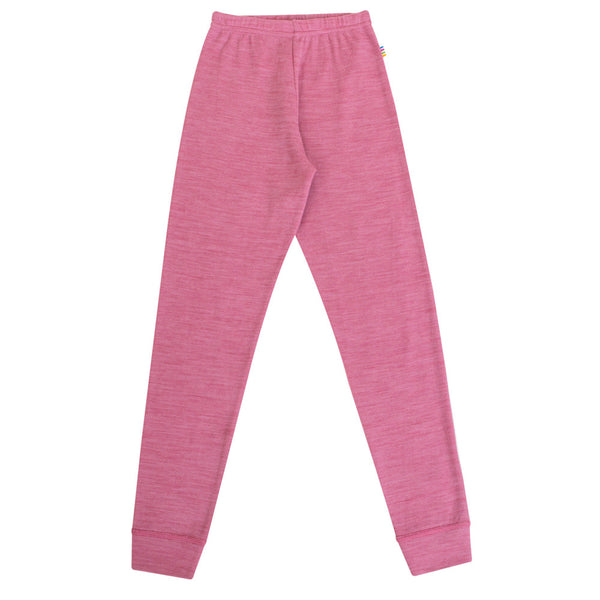 Joha Wool leggings Pink Melange