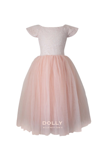 DOLLY - Dreamy Dress im Ballett Pink