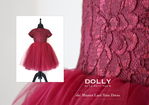 DOLLY - Minuet Dress ruby