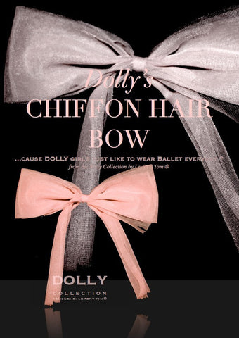 DOLLY Chiffon Hair Bow