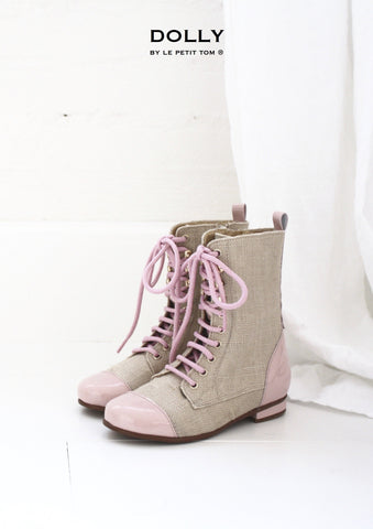 DOLLY - Jute Victorian Boots