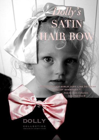 DOLLY Classic Satin Hairbow