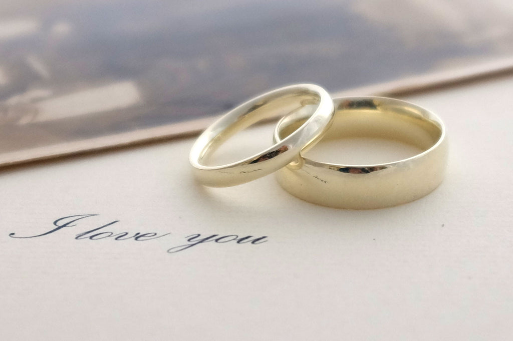 Fairtrade Gold Wedding Bands