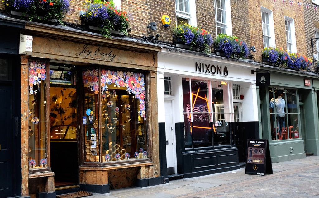 Our independent jewellery shop in soho