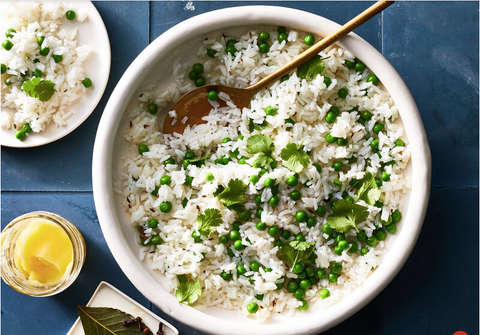 Cardamom Recipe Rice and Peas