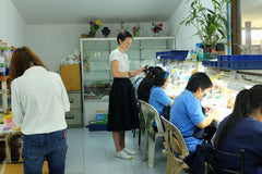 Yasmin at the workshop in Chang Mai
