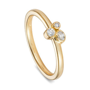 Queen Philippa, 18 carat Yellow Gold Fairtrade Engagement Ring
