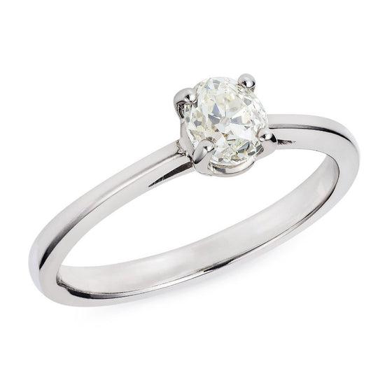 Sustainable Engagement Ring 0.58ct - Joy Everley Fine Jewellers, London