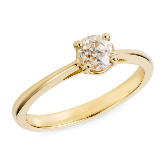 Sustainable Engagement Ring 0.65ct