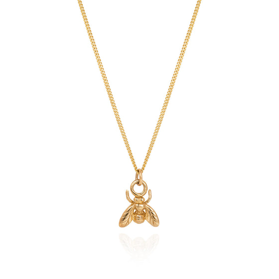 Gold Little Fly Necklace