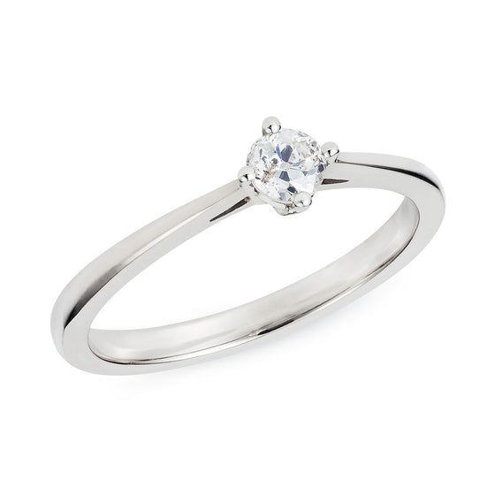 Sustainable Engagement Ring 0.27ct - Joy Everley Fine Jewellers, London