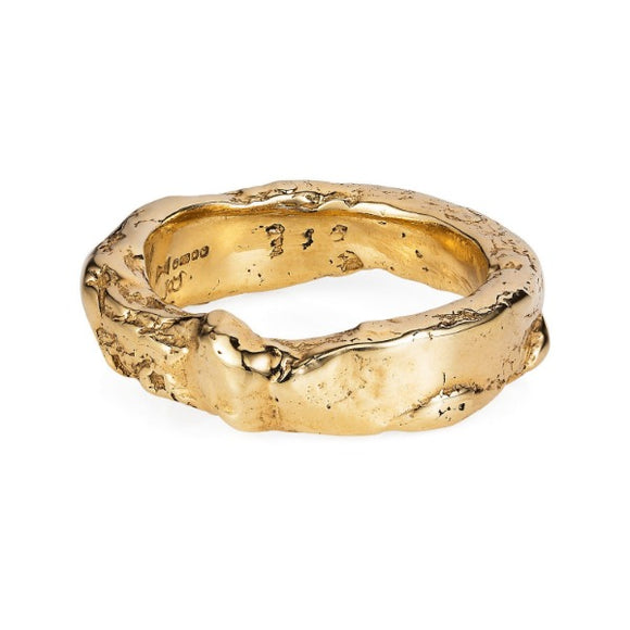 Gold Rough Ring